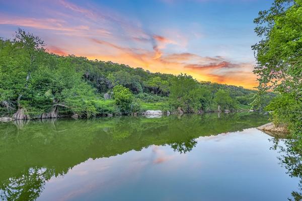 Agent 001 pedernales river sunset 110 roy creek